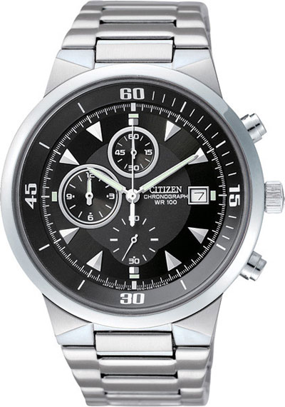 CITIZEN AN3370-57E Chronograph Mens Watch AN3370-57E watch 100m WR Gents watch