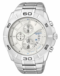 Citizen AN3410-54A WR100m Mens Chronograph Watch
