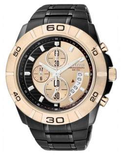 Citizen AN3418-52P WR100m Mens Chronograph Watch