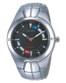 Citizen AO2000-55E OXY Gents watch with stainless steel strap