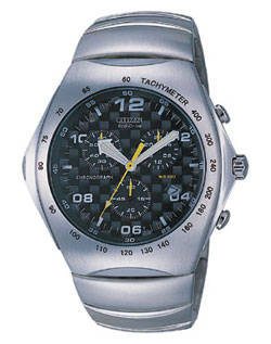 Citizen AT0060-53F Gents Eco-Drive watch with stainless steel strap