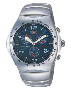 Citizen AT0060-53L Gents Eco-Drive watch with stainless steel strap