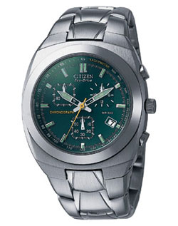 Citizen AT0070-50X Gents Eco-Drive watch with stainless steel strap