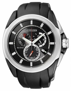 Citizen Eco-Drive AT0831-04E WR100m Mens Chronograph Watch
