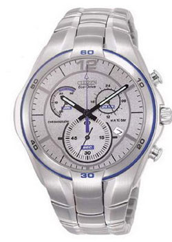 Citizen AT1087-51B Eco-Drive Mens Stainless Steel WR100m Mens Watch