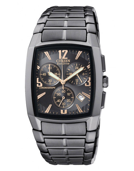 Citizen AT2007-55E Eco-Drive Mens Solar Chronograph Watch