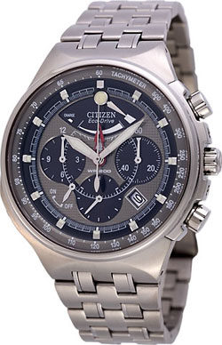 Citizen Promaster Eco Drive Titanium Mens Chronograph AV0020-55H Watch
