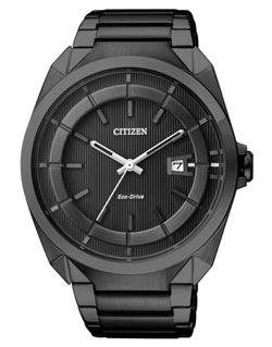 CITIZEN AW1015-53E Eco-Drive Mens Watch AW1015-53E WR50m BLACK