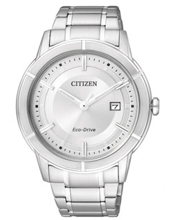 CITIZEN Eco-Drive Mens Watch AW1080-51A WR50m