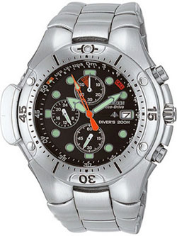 Citizen Aqualand Eco-Drive BJ2040-55E WR200m Divers Watch