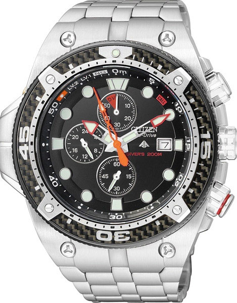 Citizen BJ2107-56E Eco-Drive Promaster Sea Divers WR200m Mens Watch