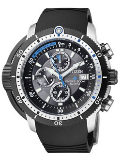 Citizen BJ2120-07E Promaster Aqualand Eco-Drive WR200m Divers Watch