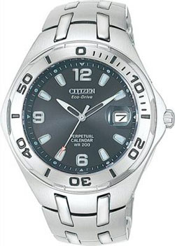 Citizen Eco-Drive BL1020-55H Perpetual Calendar watch WR200m