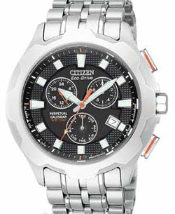 Citizen Eco-Drive BL5260-50E Perpetual Calendar Alarm Mens watch