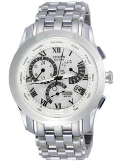 Citizen Eco-Drive BL8001-86A Perpetual Calendar Alarm watch WR100m