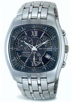 Citizen Eco-Drive Titanium BL8020-57G Perpetual Calendar Alarm watch WR100m