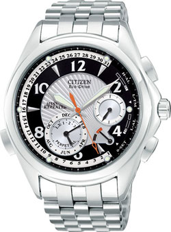 Citizen Eco-Drive Minute Repeater BL9000-59F Perpetual Calendar Dual-Time Dual-Alarm watch in gift box