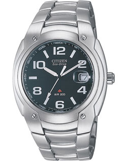 Citizen Pro-Diver Eco-Drive stainless steel BM0920-53F Gents watch