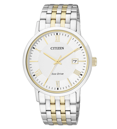 Citizen BM6774-51A Eco-Drive Solar Mens Watch Two-Tone