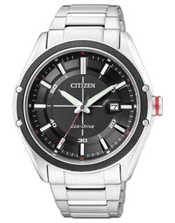 CITIZEN BM6890-50E Eco-Drive Mens Watch WR 100m Gents watch
