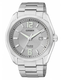 CITIZEN BM7081-51A  Eco-Drive Chronograph Gents Titanium Watch