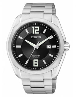 CITIZEN BM7081-51E  Eco-Drive Chronograph Gents Titanium Watch