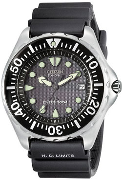 CITIZEN Eco-Drive Professional Diver Watch BN0000-04H / BN0000-12H watch 300m WR Gents watch