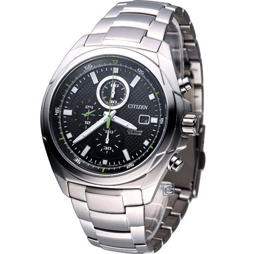 Citizen CA0190-56E Eco-Drive Titanium Solar Mens Watch WR100m
