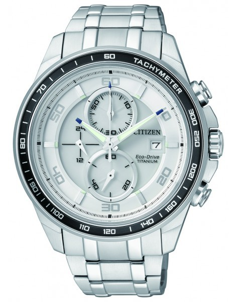 Citizen CA0341-52A Eco-Drive Titanium Mens Solar Watch WR100m