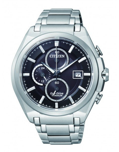 Citizen CA0351-59E Eco-Drive Titanium Mens Solar Watch WR100m