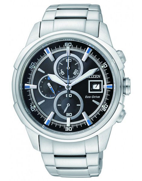 Citizen CA0370-54E Eco-Drive Chronograph WR100m Mens Watch