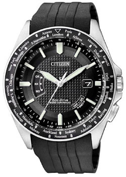 CITIZEN CB0027-00E Promaster Air Collection Eco-Drive Radio Controlled Mens Watch Mens watch 200m WR