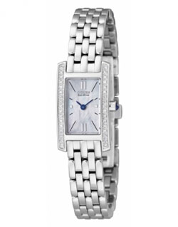Citizen Eco-Drive EG2680-61D 34 real Diamonds Ladies Watch