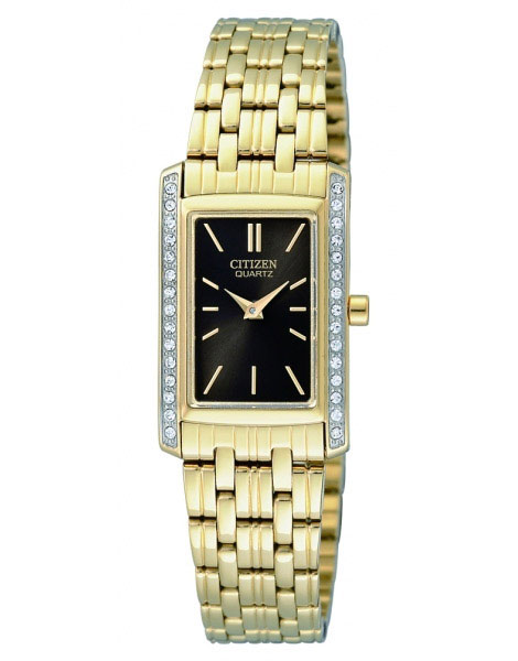 Citizen EK1122-50E Ladies Quartz Watch Stainless Steel Back Gold