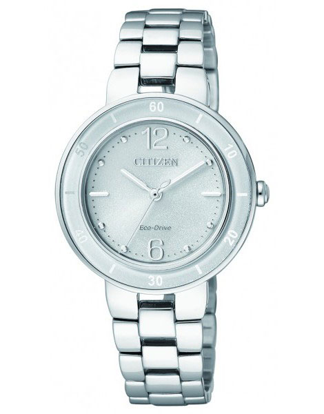 Citizen EM0015-52A Eco-Drive Ladies Solar Ceramic Watch WR50m