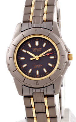 Citizen EP5010-76H two tone titanium Eco-Drive Ladies watch