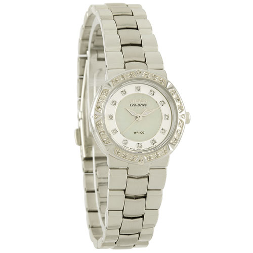Citizen EP5830-56D Eco-Drive Ladies Solar Diamond Watch WR100m