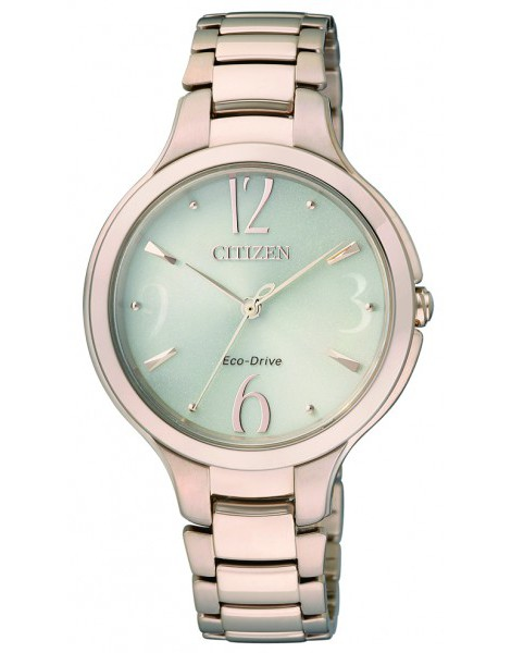Citizen EP5992-54P Eco-Drive Gold Ladies Dress Solar Watch