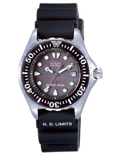 CITIZEN Eco-Drive Ladies Diver Watch EP6000-07H watch WR 300m Gents watch