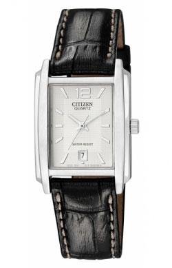 Citizen EU2640-06A leather band Mens Watch
