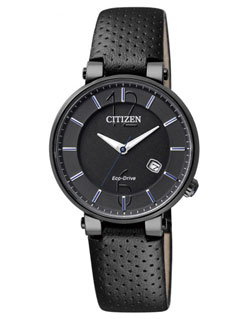 Citizen Eco-Drive EW1794-05E Ladies Dress Leather Band Watch
