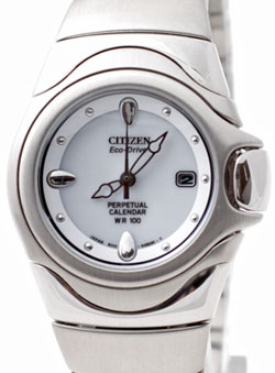Citizen EW7000-59A Ladies Eco-Drive Infinitum watch with Perpetual Calender