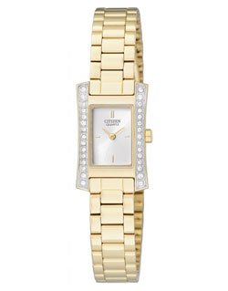Citizen EZ6312-52A Ladies Dress Watch Gold