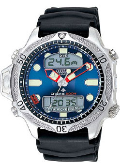 Citizen Promaster Aqualand II JP1010-00L Divers watch 200m with rubber strap