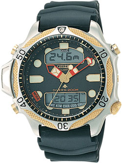 Citizen Aqualand II JP1014-09E WR200m Mens Divers Watch
