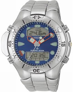 Citizen Promaster Aqualand III JP1060-52L Divers watch 200m blue dial with stainless steel strap