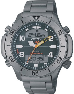 Citizen Promaster Aquamount Titanium JP3050-55W Divers watch (200m)