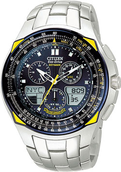 Citizen Skyhawk Blue Angels Flight Chronograph Eco Drive JR3080-51L