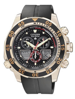 Citizen JR4046-03E Eco-Drive Promaster Chronograph World Time Yachting Mens Watch