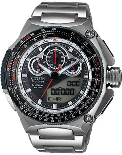 CITIZEN JW0050-58E PROMASTER WATCH SST SUPERCHRONO 1000 Mens watch